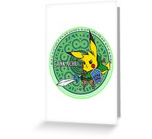 Linkachu Greeting Card