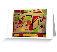 Shapes - Parks and Recreation Greeting Card