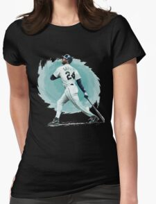 Ken Griffey Jr. Womens Fitted T-Shirt