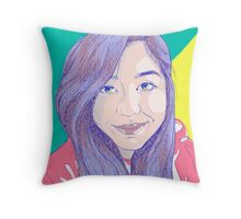 Pretty In Lines  Throw Pillow