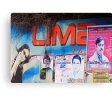Roadside Advertising  Canvas Print