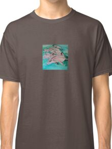 Dolphins in blue Classic T-Shirt