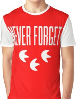 """""""Never Forget"""" Pokemon Go 3-step Merch Graphic T-Shirt"""
