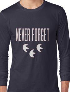"""Never Forget"" Pokemon Go 3-step Merch Long Sleeve T-Shirt"