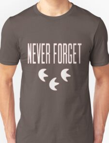 """Never Forget"" Pokemon Go 3-step Merch Unisex T-Shirt"