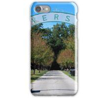 Riverside Cemetery iPhone Case/Skin