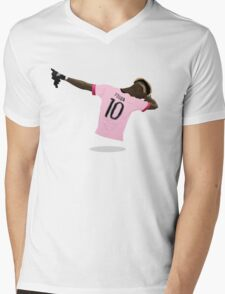 Paul Pogba Dab 2016 Mens V-Neck T-Shirt