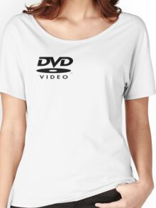 DVD Digital Video Disc Women's Relaxed Fit T-Shirt