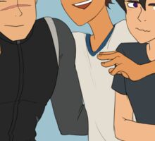 shiro, lance, and keith Sticker