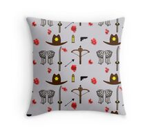 TWD design Throw Pillow