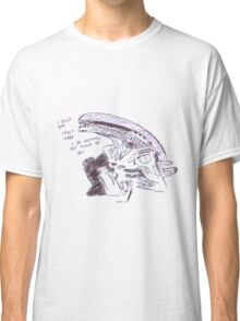 alien - i do nothing but think of you Classic T-Shirt