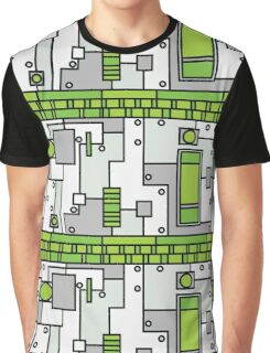 Metal Lab - Ghost Gear Green - Danny Phantom Graphic T-Shirt