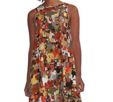 1Patches A-Line Dress