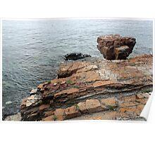 Maine Shoreline 2 Poster