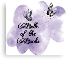 Belle of the Books - Logo 2 Canvas Print