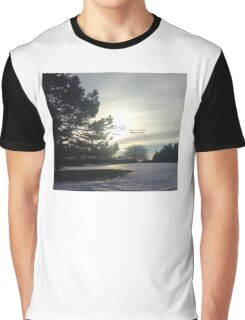 Face in the Sky Graphic T-Shirt