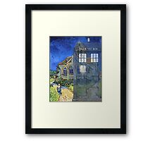Dr., Van Gogh and the Church at Auvers Framed Print