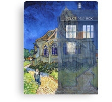 Dr., Van Gogh and the Church at Auvers Canvas Print