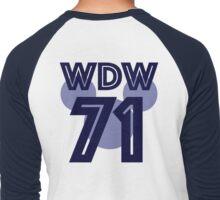 wdw jersey Men's Baseball ¾ T-Shirt