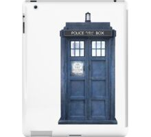 Tardis Blue - The Police Box iPad Case/Skin