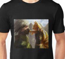 Kakashi et Bébé Kyubi Unisex T-Shirt