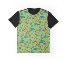 Pooch Pattern Boys Graphic T-Shirt