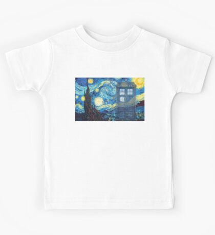 The Doctor and Vincent Kids Tee