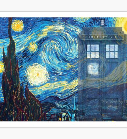 The Doctor and Vincent Sticker
