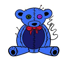 blue ted by Seymour  Art