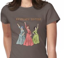 Keyblade Sisters Womens Fitted T-Shirt