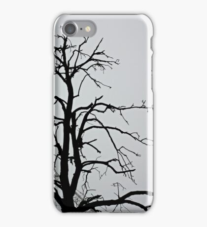 Dark tree iPhone Case/Skin