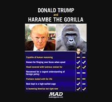 Harambe vs Donald Trump Classic T-Shirt