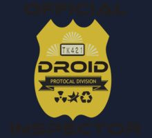Official Droid Inspector Baby Tee