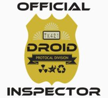 Official Droid Inspector Kids Tee
