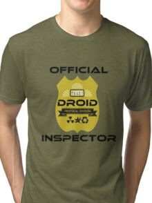 Official Droid Inspector Tri-blend T-Shirt