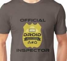 Official Droid Inspector Unisex T-Shirt