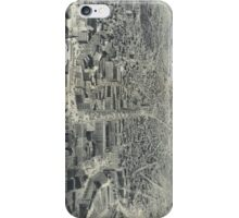 Vintage Pictorial Map of Providence RI (1895) iPhone Case/Skin