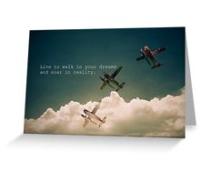 Ambitions Greeting Card