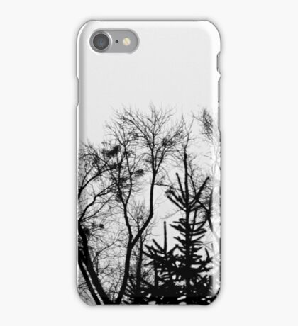 Dark trees iPhone Case/Skin