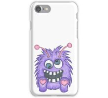 Purple Flurry Monster iPhone Case/Skin