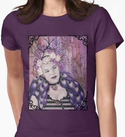 February - She Is The Queen Of Her Universe Womens Fitted T-Shirt
