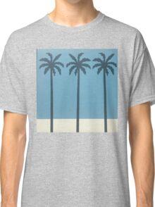 Palm Trees blue Classic T-Shirt