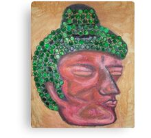 Ethnic collection 2 posters,prints and cards case buda head Canvas Print