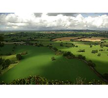 Cheshire Plains England Photographic Print
