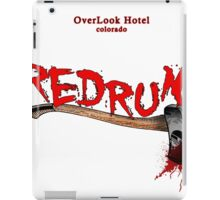 overlook hotel redrum iPad Case/Skin