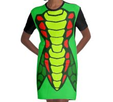 VENOMARI Graphic T-Shirt Dress