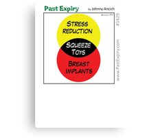 [Cartoon] Stress Reliever Canvas Print