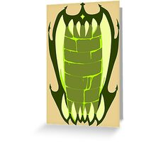DEVOURER Greeting Card