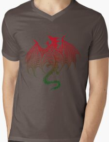 Dragon 578 Mens V-Neck T-Shirt