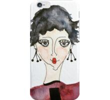 Seriously?  Fashion Fancy Face iPhone Case/Skin